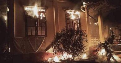 လွိုင်ကော်မြို့ရှိ လောပိတအမှတ် (၁) ရေအားလျှပ်စစ် စက်ရုံမှူးရုံး မီးလောင်မှုဖြစ်ပွား