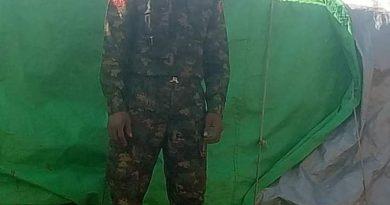 ဗန်းမော်ခရိုင် မံစီမြို့နယ်တွင် တာဝန်ထမ်းဆောင်နေသည့် ခြေမြန်တပ်ရင်း အမှတ် (၃၆၉) မှ တပ်သားတစ်ဦး CDM တွင် ပါဝင်လာ