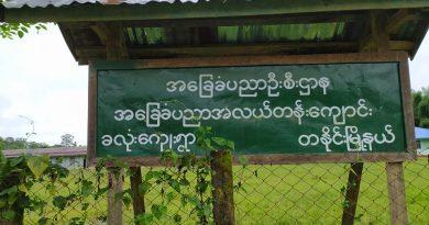 တနိုင်းမြို့နယ် ခလုံးကျေးရွာ