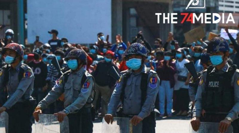 ရဲတပ်ဖွဲ့ဝင်များ