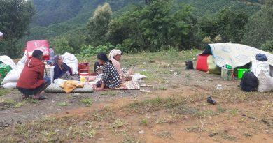 ထန်တလန်မြို့နယ်မှ စစ်ရှောင်ပြည်သူများ စားနပ်ရိက္ခာ အခက်အခဲဖြစ်နေ