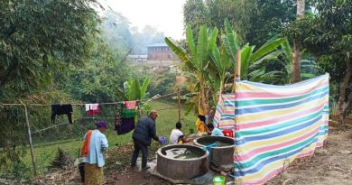 မိုးမောက်မြို့နယ် စိန်လုံကျေးရွာအုပ်စုမှ စစ်ရှောင်ပြည်သူများ